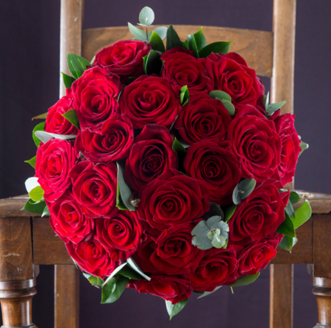Opulent Red Roses £54.99